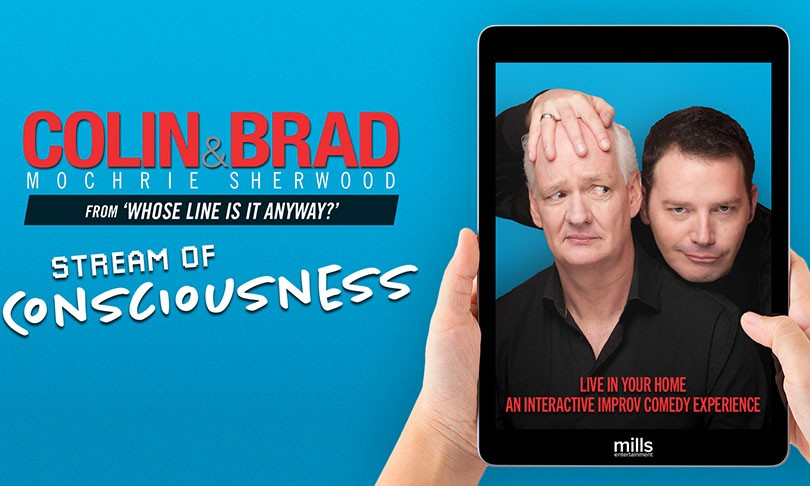 Colin Mochire & Brad Sherwood - Stream of Consciousness