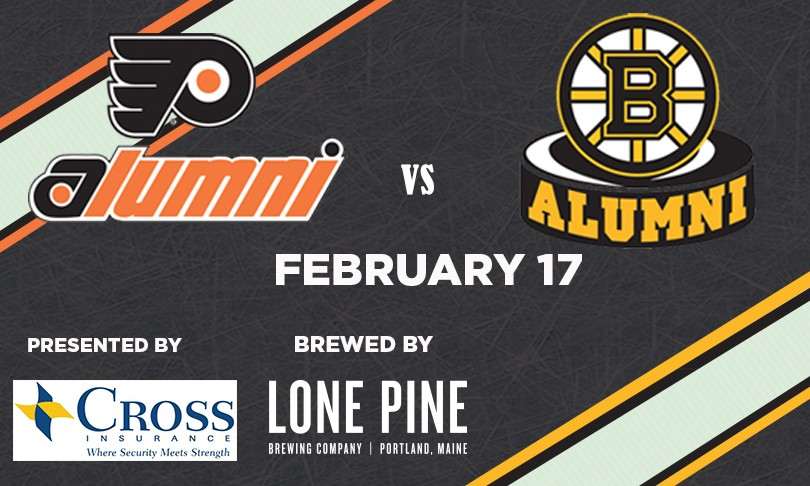 bruins alumni game portland maine