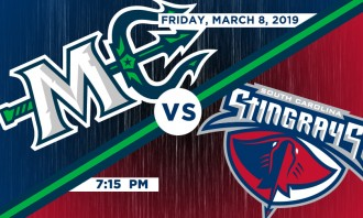 Maine Mariners vs. South Carolina Stingrays