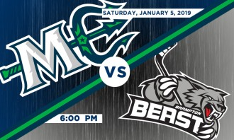 Maine Mariners vs. Brampton Beast