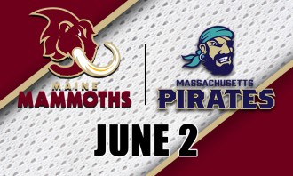 Maine Mammoths vs. Massachusetts Pirates