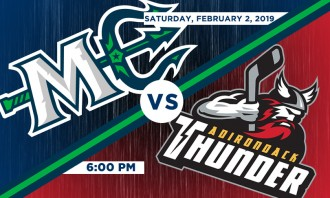 Maine Mariners vs. Adirondack Thunder