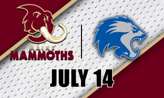 Maine Mammoths vs. Columbus Lions