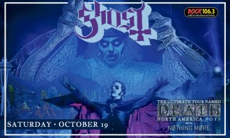 GHOST Presented by Rock 106.3