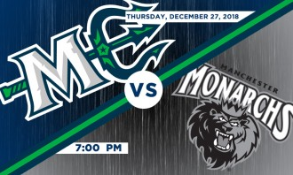Maine Mariners vs. Manchester Moncarchs
