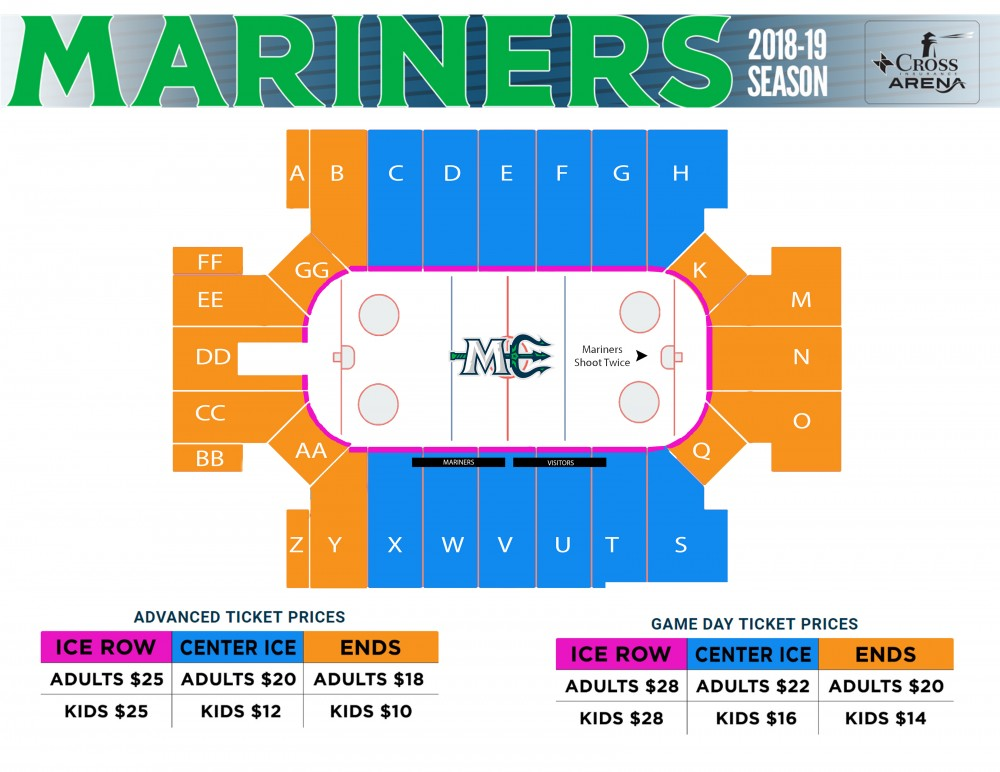 Cds Seating View Chart