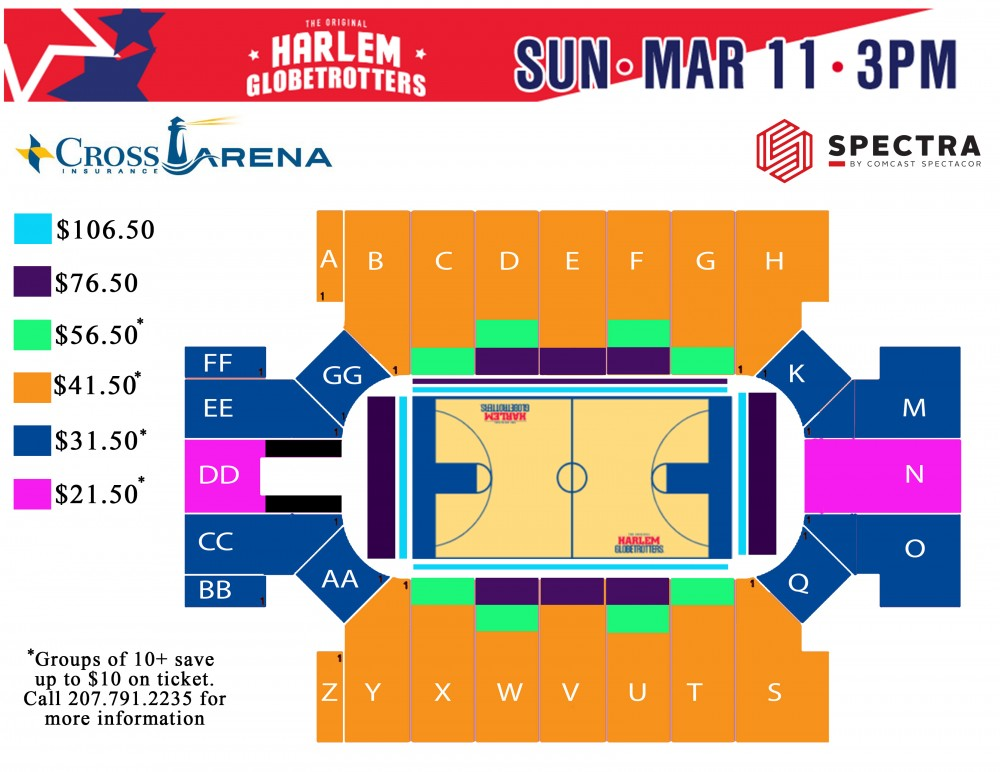 Globetrotters Seating